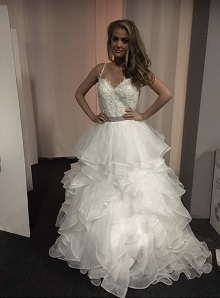P2 Prinsessklänning med tyll i olika lager