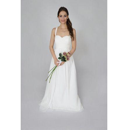 G1 Gravidklänning brudklänning justerbar korsett baktill