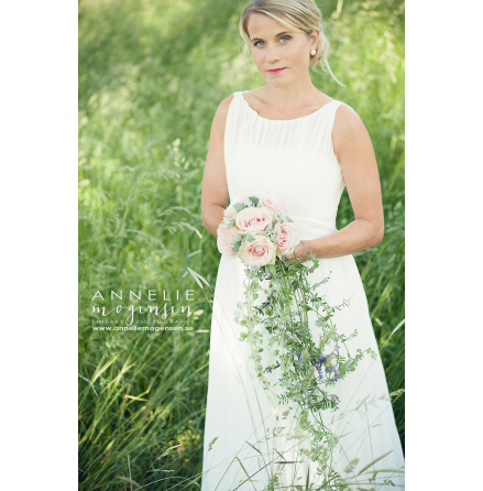 970 Chiffongklänning till bruden REA