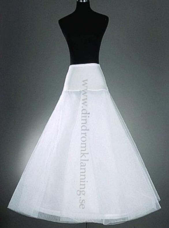 17 Underkjol till brudklänning i tyll