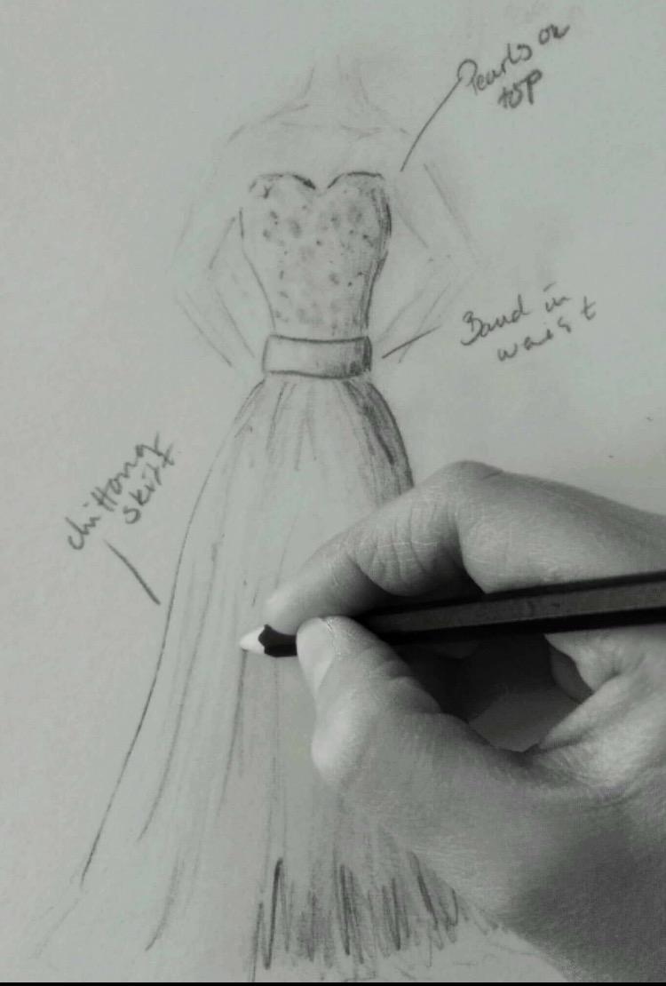 219a58252116 Hos oss har du möjlighet att sätta ihop dina önskemål från olika klänningar,  bilder och idéer för att beställa just din drömklänning.